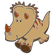兒童圖畫書 - 可愛的卡通恐龍2