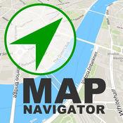 纽约地图导航