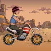 书呆子-Y骑自行车疯狂 - 在复刻审判拉力赛摩托车疯狂