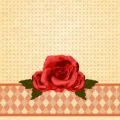 少女与可爱的壁纸 2