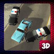 警车抢车和3D城市驾驶模拟器