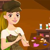 女孩的画室-经营属于你自己的画室-最好玩的单机经营