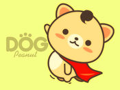 Peanut Dog Sticker花生犬 - 可爱动物表情贴纸包