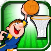 篮球比赛扣篮对...