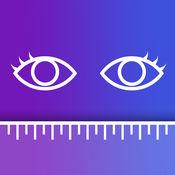 瞳孔间距离测量 - 瞳距尺