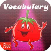 学习英语词汇蔬菜:学习教育游戏为孩子初学 1