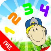 为孩子123计数数字游戏来学习词汇数目字 1.1