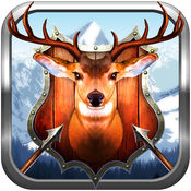 鹿弓狩猎冬季挑...