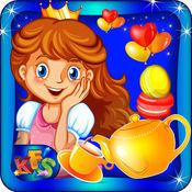 公主茶党 - 做甜点和饼干的王室客人在此烹饪厨师游戏