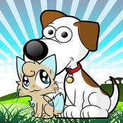 儿童图画书可爱的猫,狗 1
