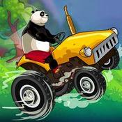 熊猫拖拉机运货
