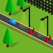 Crazy Kart 3D - 疯狂公路赛车跳跃版