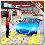 汽车服务站停车场 - 驱动普拉多吉普车 1