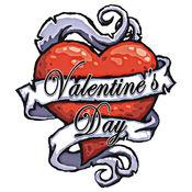 情人节卡片情人节 - 祝贺所有你的心脏你的知己! 1.1