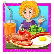 早餐机 - 疯狂的烹饪发烧游戏为孩子们