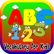 ABC 123幼儿和儿童的词汇