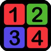 颜色和数字配对游戏