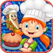 厨房做饭的故事 - 食品制造商及厨师躁狂症游戏小孩 1