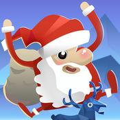 圣诞跳跃 - 不要让圣诞老人掉下来哦 2
