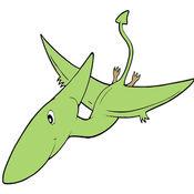 兒童圖畫書 - 可愛的卡通恐龍4