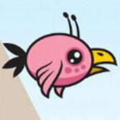 悲伤的粉红鸟多彩的冒险