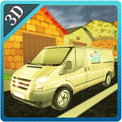 3D运送货车Parking-驱动模拟器 1