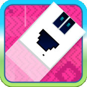 Hoppy Pixel Fall - 免费为男孩和女孩的家人跳跃游戏