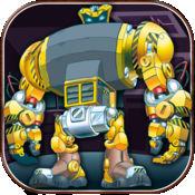 机甲机器人复仇 - 钢铁斗士攻击