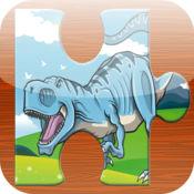 恐龙拼图孩子 - 拼图游戏教育学习免费为幼儿和学龄前