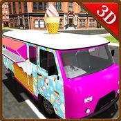 冰淇淋送货卡车&运输车模拟器