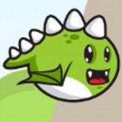 可爱的飞行Dino Jurrasic Dash