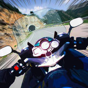 极端摩托车赛车