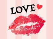 Kiss  Heart 亲吻贴纸
