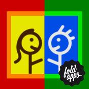 拇指涂色 对决——和FoldApps™一起富有创意地玩