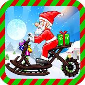 圣诞老人雪橇车比赛 1