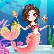 美人鱼海底装扮-...