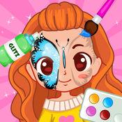 珍妮脸部彩绘