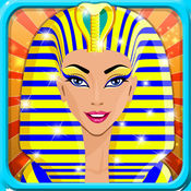 埃及公主美容院 - 时尚工作室和头发护理的游戏为孩子们和