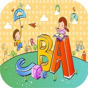 简单的ABC学习词汇动词英语单词 1