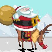 圣诞老人跳烟囱