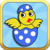 飞扬的复活节Chicky鸟