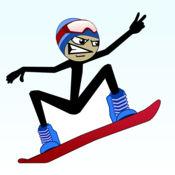 棒男子滑雪板免...