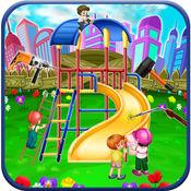 孩子公园修理 - 骑修理游戏