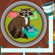 浣熊小顽皮爱洗衣  -- 物理解谜游戏
