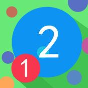 红和蓝的数字-最好玩最轻松的中文益智游戏 1