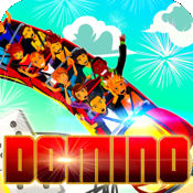 Theme Park Magic Dominoes 多米诺骨牌 多米诺骨牌 Pro World Designer - 免费 Free Original Domino 多米诺骨牌 Touch Pad HD Edition