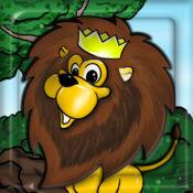 丛林世界动物园方块拼图 ™ 1