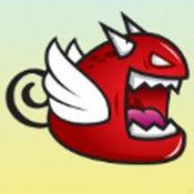 飞行红色怪物冒险 1