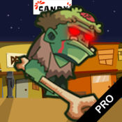 搞笑哑僵尸临 - 路之旅跳跃类游戏。