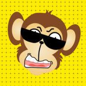 搞笑碰小猴